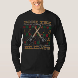 Rock The Holidays Guitar Ugly Christmas Sweater