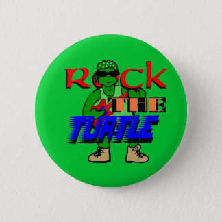 Rock the Turtle Button