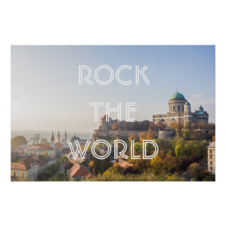 Rock the world! poster