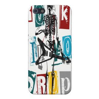 Rock Til You Drop iphone 4 Hard Case iPhone 5 Case