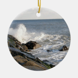 Rock View Ceramic Ornament