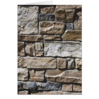 Rock Wall Card
