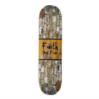 Rock Wall Faith Skate Boards