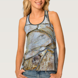 Rock Wall Photo Tank Top