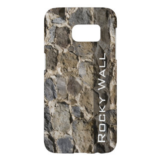 Rock Wall Photograph Background Samsung Galaxy S7 Case
