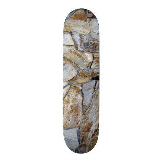 Rock Wall Texture Photo Skate Board Decks