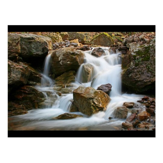 Rock Waterfall Postcard