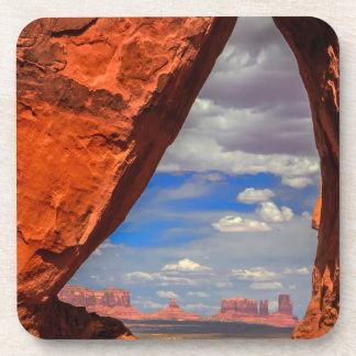 Rock window to Monument Valley, AZ Coaster