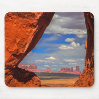 Rock window to Monument Valley, AZ Mouse Pad