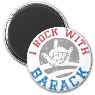 Rock with Barack Magnet