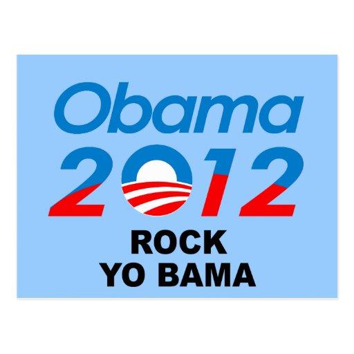 ROCK YOBAMA POST CARD
