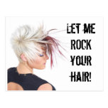 ROCK your hair!!! Post Cards