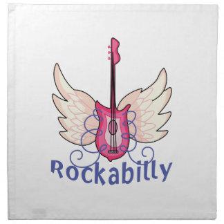 Rockability Printed Napkins