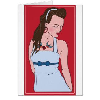 rockabilly card