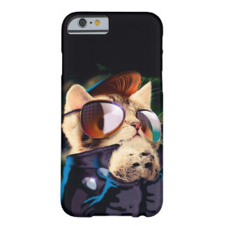 Rockabilly cat - biker cat - rocker cat - cute cat barely there iPhone 6 case