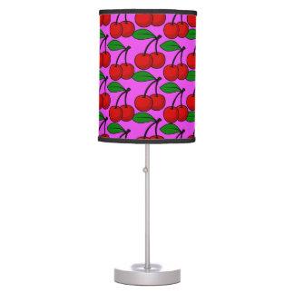 Rockabilly Cherry love Table Lamp