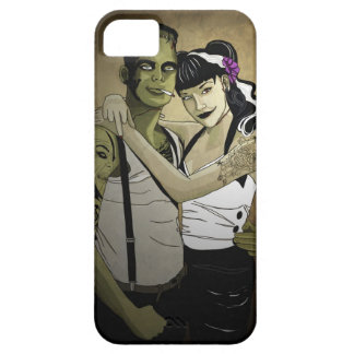 Rockabilly Couple iPhone 5 Cover