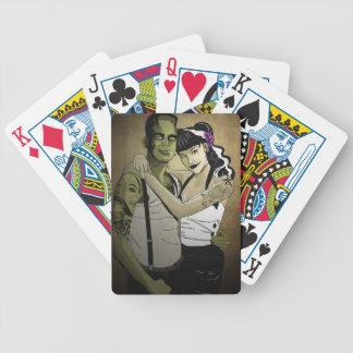 Rockabilly Couple Poker Deck