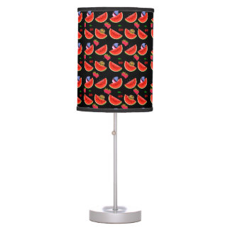 Rockabilly fruit salad table lamp