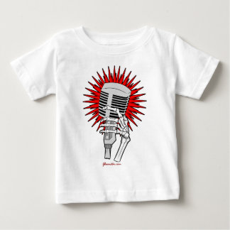 Rockabilly Microphone Baby T-Shirt