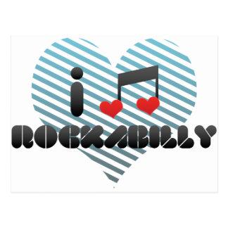 Rockabilly Postcard