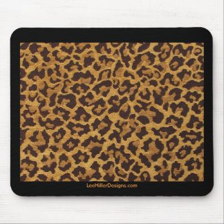 Rockabilly rab Leopard Print Gifts & Collectibles Mouse Pad
