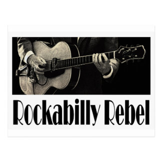 Rockabilly Rebel Postcard