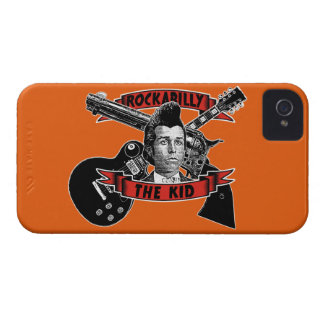 Rockabilly the kid iPhone 4 cover
