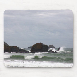 Rockaway Beach Surf Mouse Pad