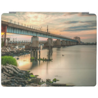 Rockaway Train Bridge iPad Cover