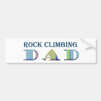 RockClimbingDad Bumper Sticker