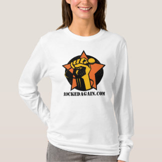 RockedAgain.Com Logo On Ladies Hoodie
