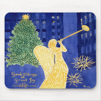 Rockefeller Angel Mousepad
