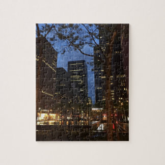 Rockefeller Center Dawn NYC Architecture New York Jigsaw Puzzle