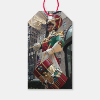 Rockefeller Center Drummer Boy Christmas New York Gift Tags
