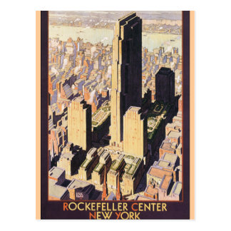 Rockefeller Center New York Postcard