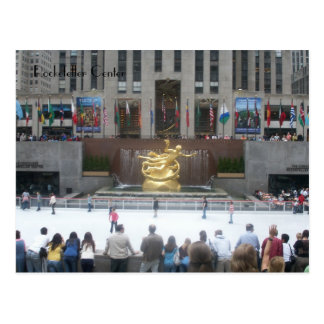 Rockefeller Center Postcard