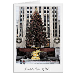 Rockefeller Centre - New York City Card