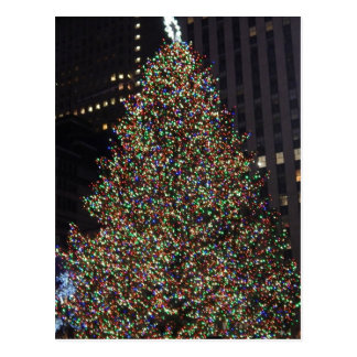 Rockefeller Tree December 2013 Postcard