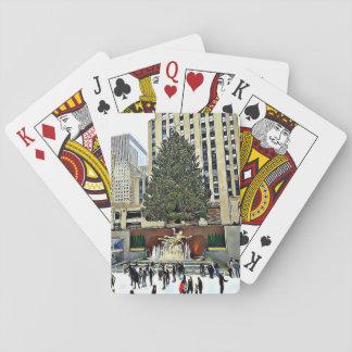 Rockefeller Tree Skating Rink Christmas  Cards
