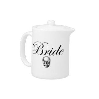 Rocker Bride Goth Skull