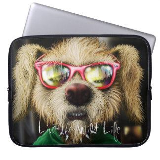 Rocker Dog - Live the Wild Life / Laptop Sleeve