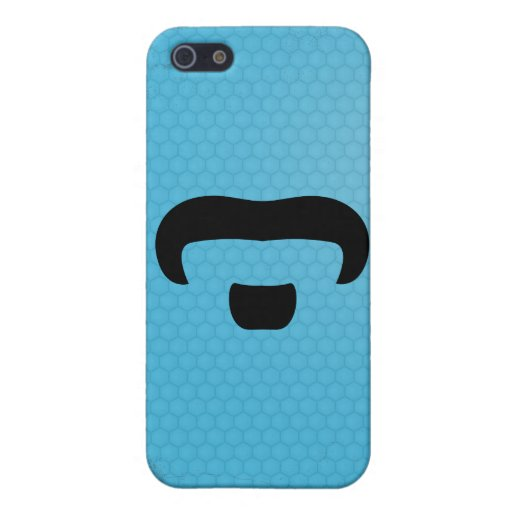 Rocker Mustache iPhone 5 Case