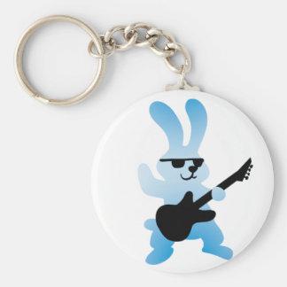 Rocker rabbit keychain