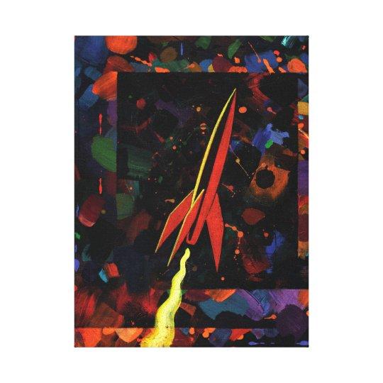 Rocket #52 canvas print