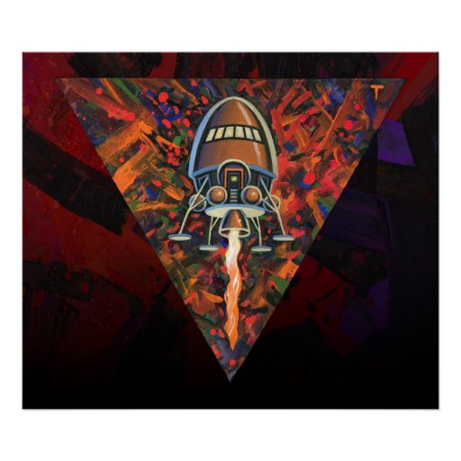 Rocket #72 poster