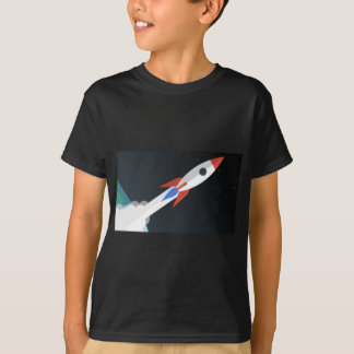 Rocket Blasting Off T-Shirt