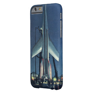 Rocket Blue Barely There iPhone 6 Case