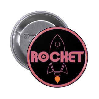 Rocket Button! 2 Inch Round Button