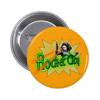Rocket City Pin